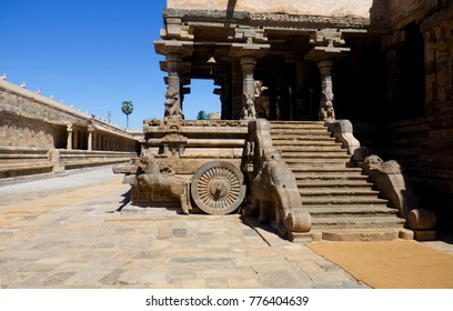 chola temple airawatheshwara tanjore tamil nadu india