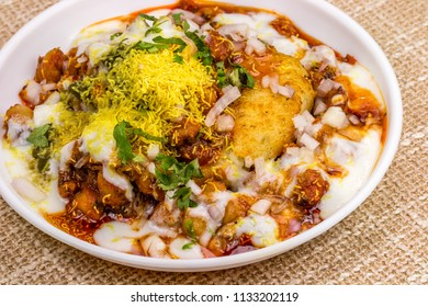Chole tikki / Aaloo tikki is a snack originating from the Indian subcontinent; in North Indian preparation, it is made out of boiled potatoes, onions and various curry spices