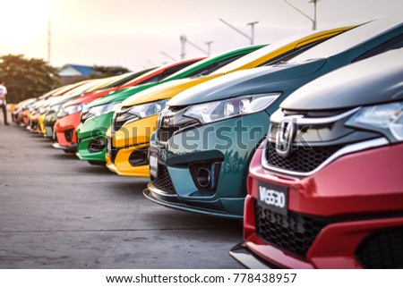 Chonburi December 16 Honda Jazz Gk Stock Photo Edit Now 778438957