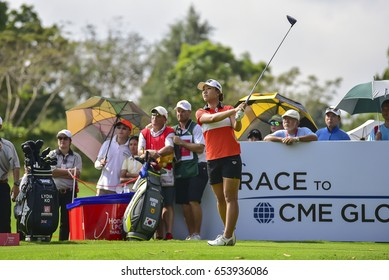 Lydia Ko New Zealand Golf Competition Stock Photo (Edit Now