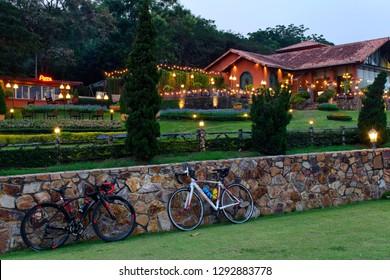 Chonburi - Pattaya, Thailand, January 17, 2019: Silver lake Vineyards one of most popular attractions in Pattaya, Thailand.