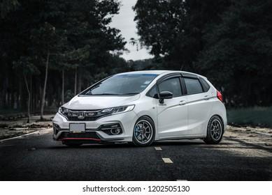 Chonburi July 14 Gray Car Honda Stock Photo Edit Now 1199377891