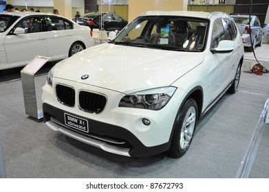 CHONBURI, THAILAND - OCTOBER 29: The BMW X1 xDrive20d at 14th Pacific Motor Show Fast Forward on October 29, 2011 in Chonburi, Thailand.