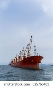 CHONBURI THAILAND - Sep 19 : Marine transport goods ocean on CHONBURI THAILAND,2015 Sep 19