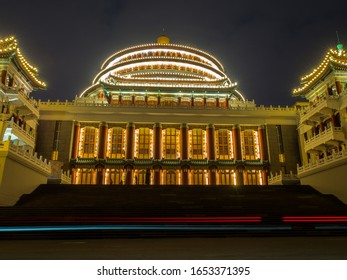 Chongqing, China - January 1, 2020 : Great Hall of the People and People's Square