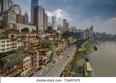 Chongqing Hongyadong scenery