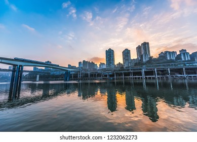 Chongqing Light Rail City Traffic