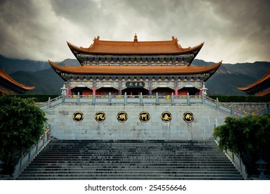 Chongsheng Monastery in Dali, Yunnan, China
