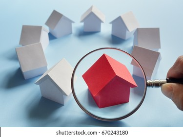 Choosing the right real estate, house or new home