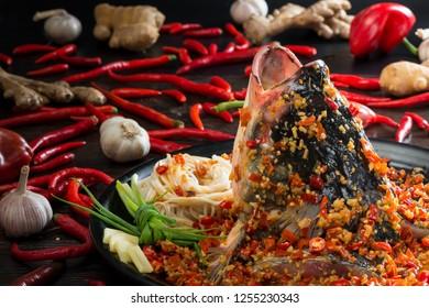 Chop head fish noodles