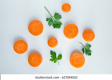 Chopped carrot