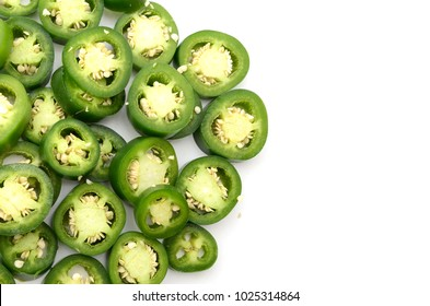 Chopped jalapeno peppers