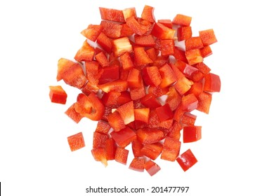 Chopped red Bell Pepper