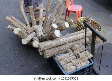 chopped tanaka woods for sale in yangon myanmar burma