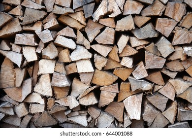 Chopped wood - texture.