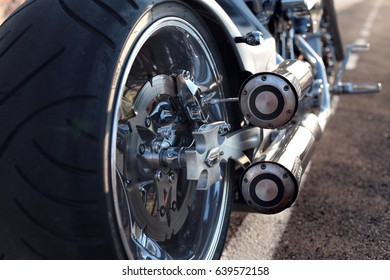 Chopper wheel and metallic combustion
