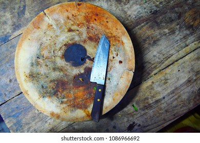 Chopping board circle