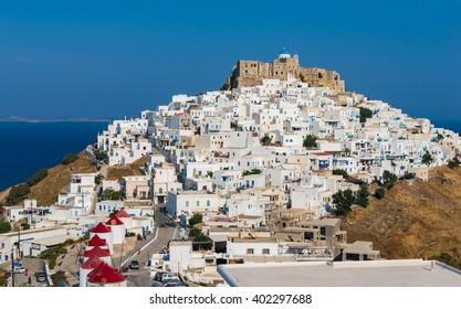 Chora of Astyplaia island Greece