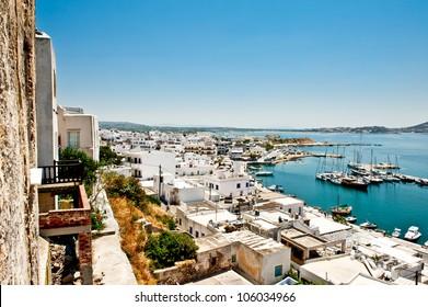 Chora of Naxos  island