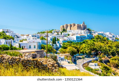 Chora Village view in Patmos Island