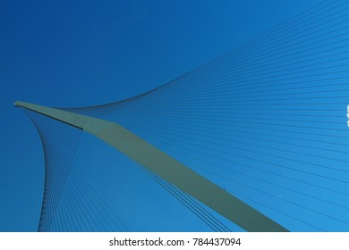 Chords Bridge in Jerusalem
