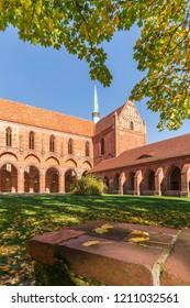 Chorin Abbey near the Village Chorin in Brandenburg, Germany