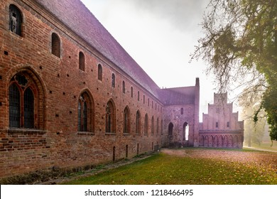 Chorin the former Cistercian abbey near the Village of Chorin in Brandenburg, Germany