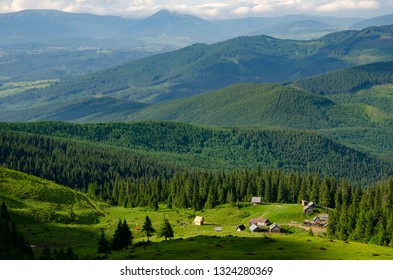 Chornohora mountains -  is the highest mountain range in Western Ukraine in the Eastern Beskids and the Ukrainian Carpathians group