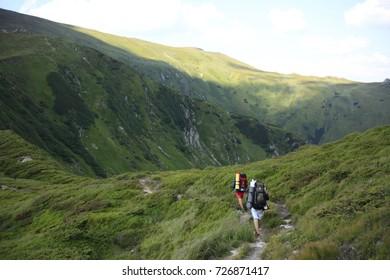 Chornohora ridge in the Ukrainian Carpathians
