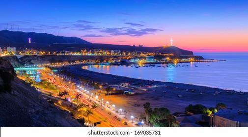 Chorrillos, Lima, Peru in HDR tone