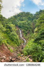 """Chorro Del Indio"" National Park and its waterfall, in Tachira State, Venezuela"