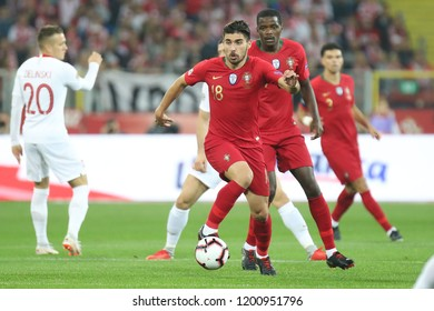 CHORZOW, POLAND - OCTOBER 11, 2018: UEFA Nations League 2019: Poland - Portugal o/p Ruben Neves