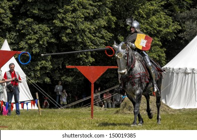 Knights Jousting Images, Stock Photos & Vectors | Shutterstock