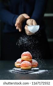 choux-cream vanilla pastry cream
