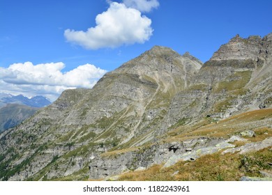 The Chriegalp Valley in the Southern Swiss alps on the border with Italy