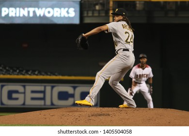 Chris Archer pitcher for the Pittsburg Pirates at Chase Field in Phoenix,AZ/USA May 15,2019.