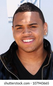 Chris Brown  at the 2008 MTV Movie Awards. Gibson Amphitheatre, Universal City, CA. 06-01-08