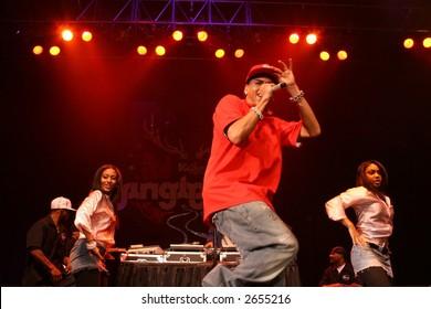 """Chris Brown, Kiss 108 """"Jingle Ball""""  December 14th, 2006, Tsongas Arena, Lowell, MA"""