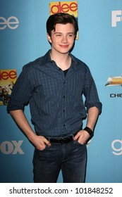 """Chris Colfer at the """"GLEE"""" Season 2 Premiere Screening and DVD Release Party, Paramount Studios, Hollywood, CA. 08-07-10"""