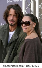Chris Cornell and wife Vicky  at the 7th Annual Stuart House Benefit. John Varvatos Boutique, Beverly Hills, CA. 03-08-09