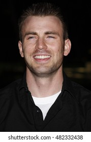 "Chris Evans at the LG Electronics' (LG) Launch of the ""Scarlet"" HDTV Series held at the Pacific Design Center in West Hollywood, USA on April 28, 2008."