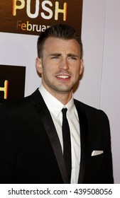 Chris Evans at the Los Angeles Premiere of 'Push' held at the Mann Village Theater in Westwood, USA on January 29, 2009.