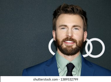 Chris Evans at the World premiere of 'Avengers: Endgame' held at the LA Convention Center in Los Angeles, USA on April 22, 2019.