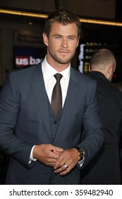 """Chris Hemsworth at the Los Angeles premiere of """"Blackhat"""" held at the TCL Chinese Theater in Los Angeles, USA on January 8, 2015."""