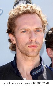 Chris Martin of the band Coldplay  at the 2008 MTV Movie Awards. Gibson Amphitheatre, Universal City, CA. 06-01-08