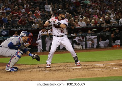 Chris Owings for the Arizina D-Backs at Chase Field in Phoenix , AZ USA April 30,2018.