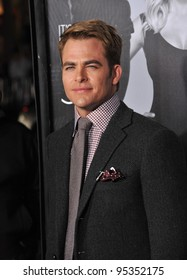 """Chris Pine at the Los Angeles premiere of his new movie """"This Means War"""" at Grauman's Chinese Theatre, Hollywood. February 8, 2012  Los Angeles, CA Picture: Paul Smith / Featureflash"""