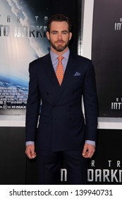 """Chris Pine at the """"Star Trek Into Darkness"""" Los Angeles Premiere, Dolby Theater, Hollywood, CA 05-14-13"""