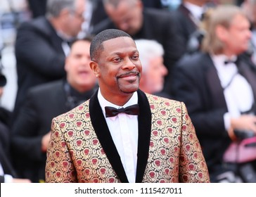 Chris Tucker attends the 'Blacklansman' during the 71st annual Cannes Film Festival at Palais des Festivals on May 14, 2018 in Cannes, France.