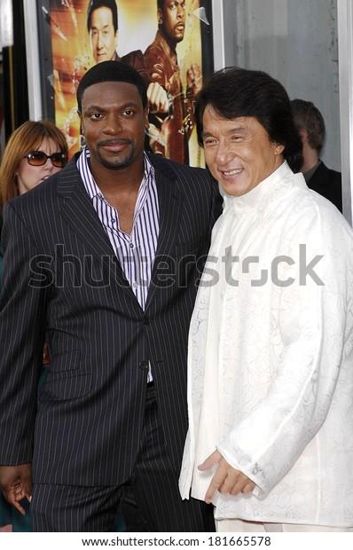 Chris Tucker Jackie Chan Rush Hour Royalty Free Stock Image